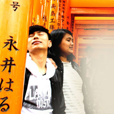 foto prewedding jepang